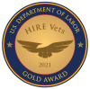 Hire Vets 2020 Gold Award Winner