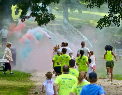 5K and color run